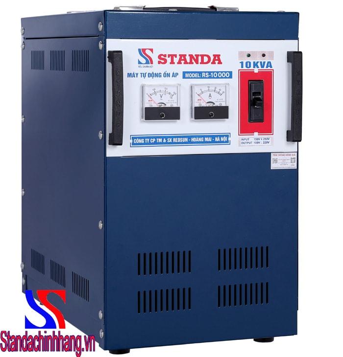 Máy ổn áp Standa 10kva điện áp từ 150v đến 250v tiết kiệm điện năng