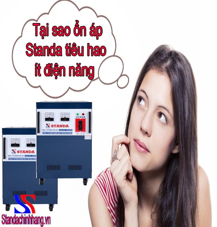 lý do máy ổn áp Standa 10kva tiêu hao ít điện năng