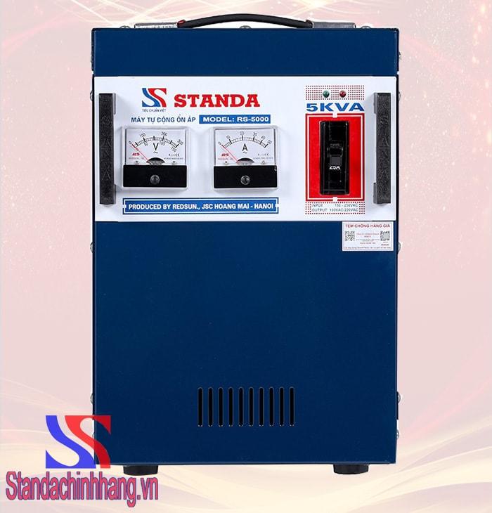 HÌnh ảnh Ổn áp Standa 5KVA ST (150V-250V) 1 pha