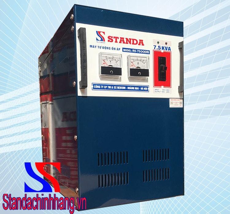 Hinh ảnh ổn áp standa 7.5kva dải điện áp 90v đến 250V
