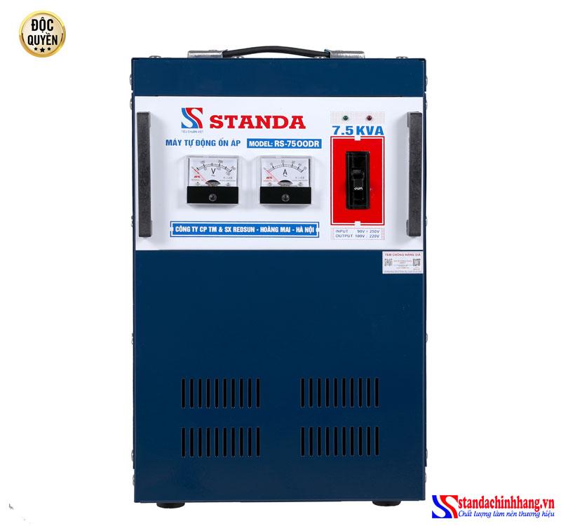 máy ổn áp Standa 7,5KVA DR