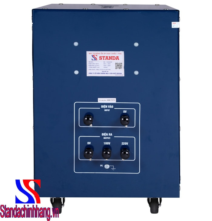 Mua máy ổn áp Standa 10kva DRI (50V-250V)