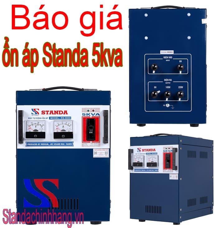 Báo giá ổn áp Standa 5KVA