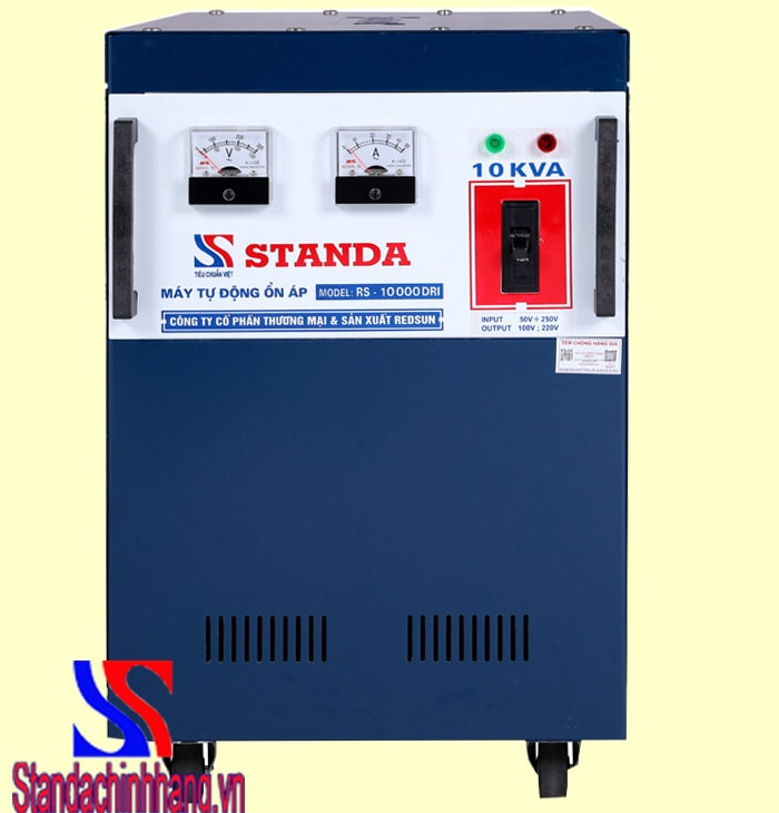 Giá Ổn áp Standa 10kva dải 50v – 250v