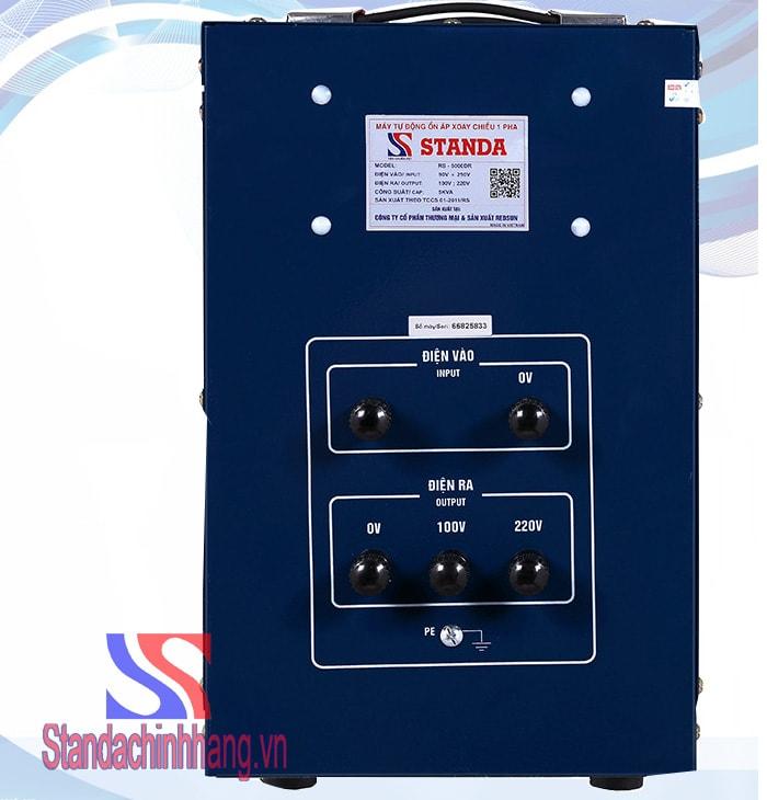 lý do nên sử dụng ổn áp Standa 5KVA DR (90V-250V)