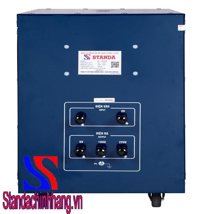 Ổn áp Standa 10KVA DR điện áp 90V-250V