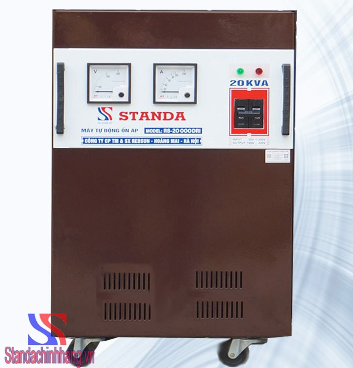 Ổn áp Standa 20KVA DRI (50V-250V)