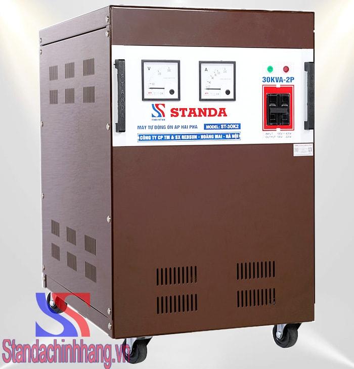 Tại sao nên sử dụng ổn áp Standa 30kva 2 pha lửa