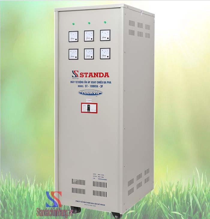 Ảnh ổn áp 3 pha Standa 100KVA điện áp 260V-430V
