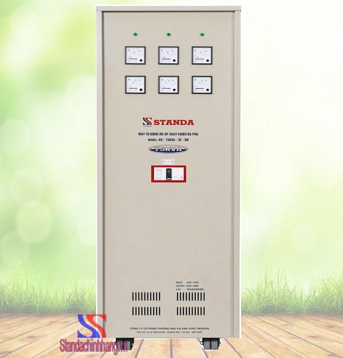 Ổn áp 3 pha Standa 75KVA (160V-430V)