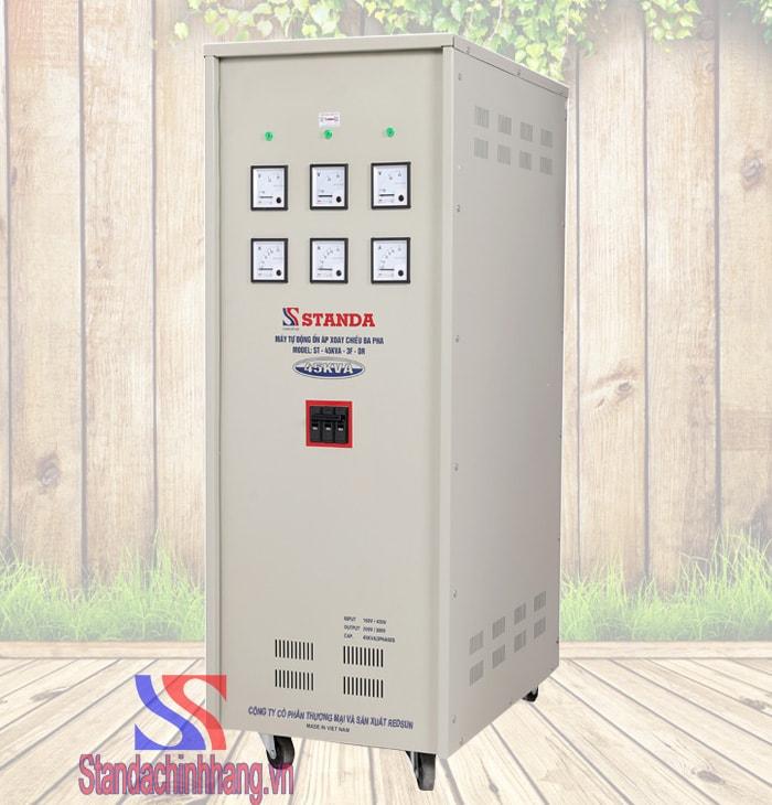 Ổn áp 3 pha Standa 45KVA dải điện áp từ 160V đến 430V