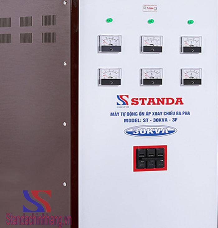 Hình ảnh chi tiết ổn áp 30kva 3 pha thương hiệu Standa