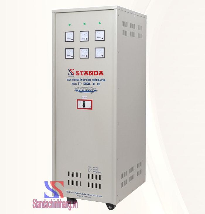 ổn áp 3 pha Standa loại 100KVa dải điện áp từ 160V