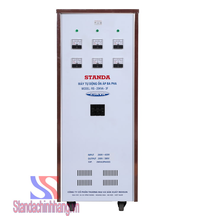 Ổn áp 3 pha Standa 25KVA (260V-430V)