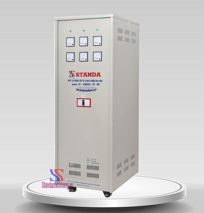 Hình ảnh ổn áp 150Kva 3 pha standa chính hãng dải rộng từ 160v đến 430V