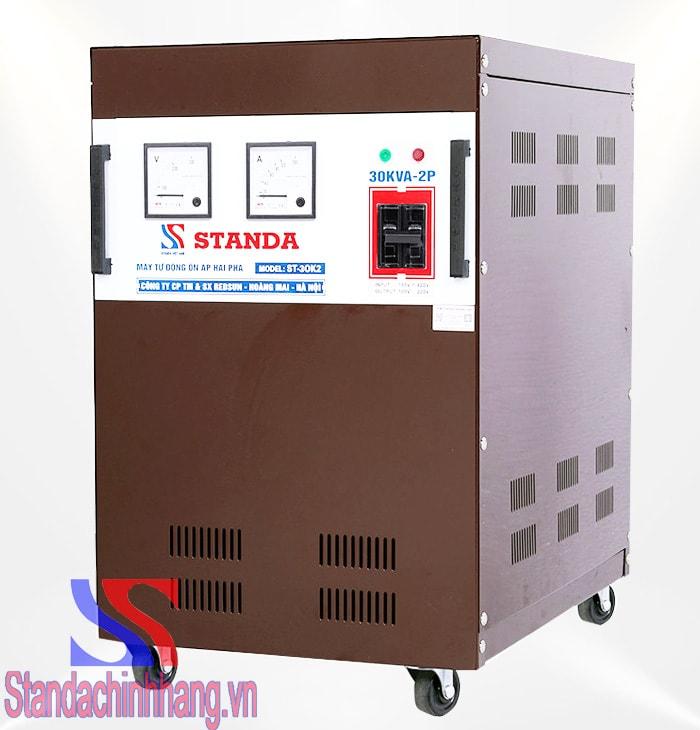 Ưu điểm của ổn áp thương hiệu Standa 30kva 2 pha lửa