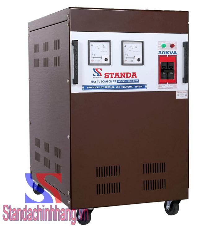 Standa 30kva là thiết bị được ưa chuộng nhất hiện nay