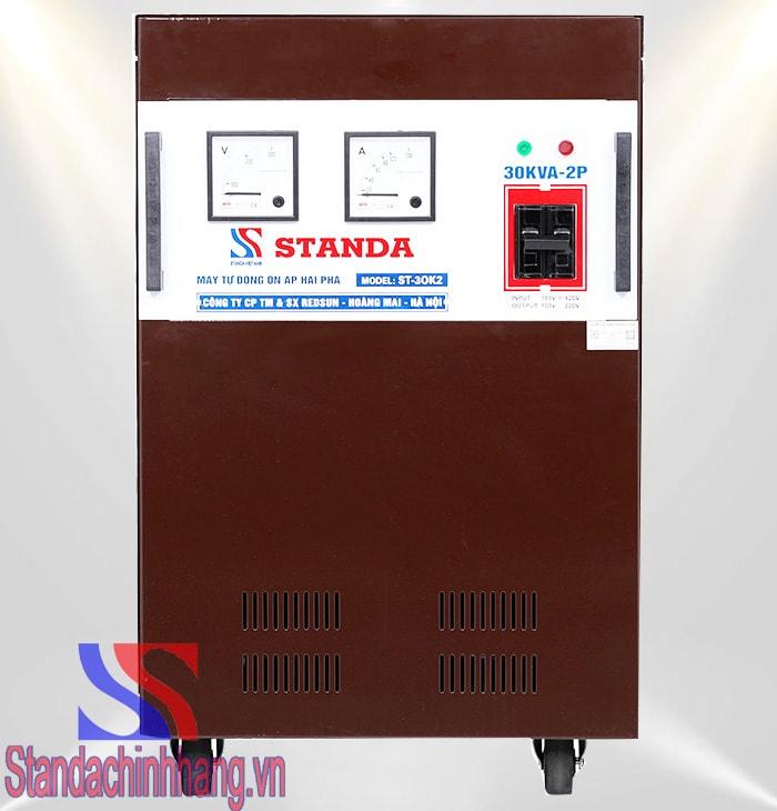 Ổn áp Standa 30kva 2 pha lửa (180V – 430V)