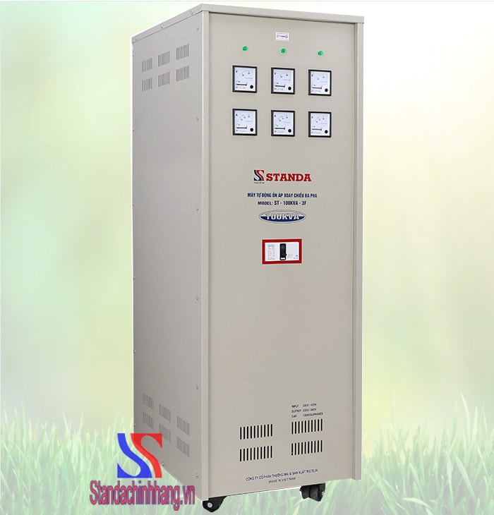 Ảnh ổn áp Standa 3 pha 100Kva chính hãng ổn áp từ 260V đến 430V