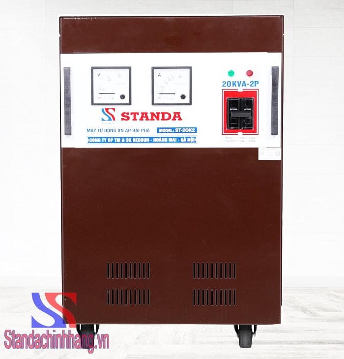 Máy ổn áp Standa 20kva 2 pha lửa (180V-420V)
