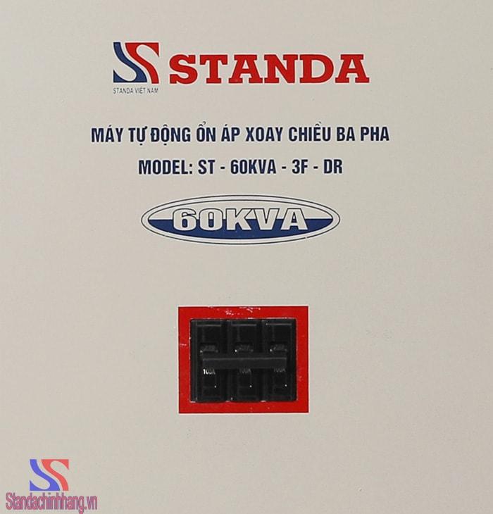 Ảnh chi tiết máy ổn áp 3 pha dải điện áp từ 160V