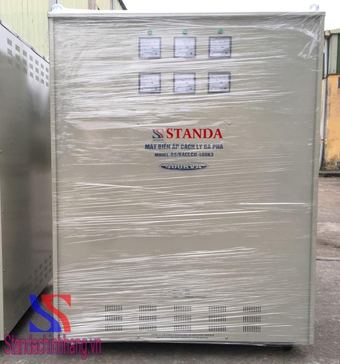 Những lưu ý khi sử dụng máy biến áp cách ly thương hiệu Standa 400kva