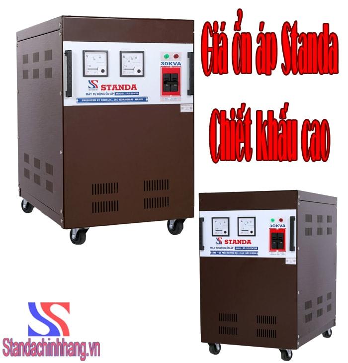 Giá máy ổn áp Standa 30kva cam kết rẻ nhất thị trường