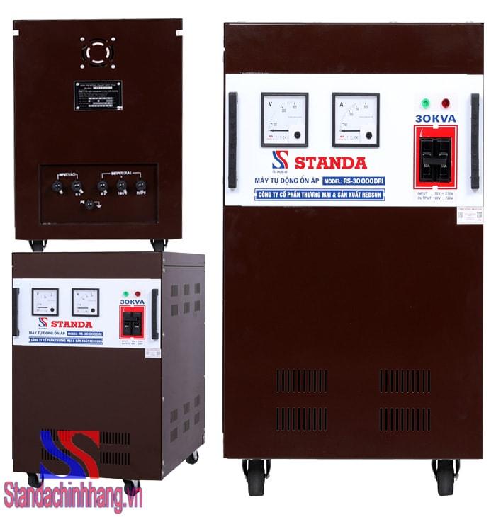 Máy ổn áp Standa 30kva dải 50v – 250v model RS-30000DRI. Giá thành: 16,940,000đ