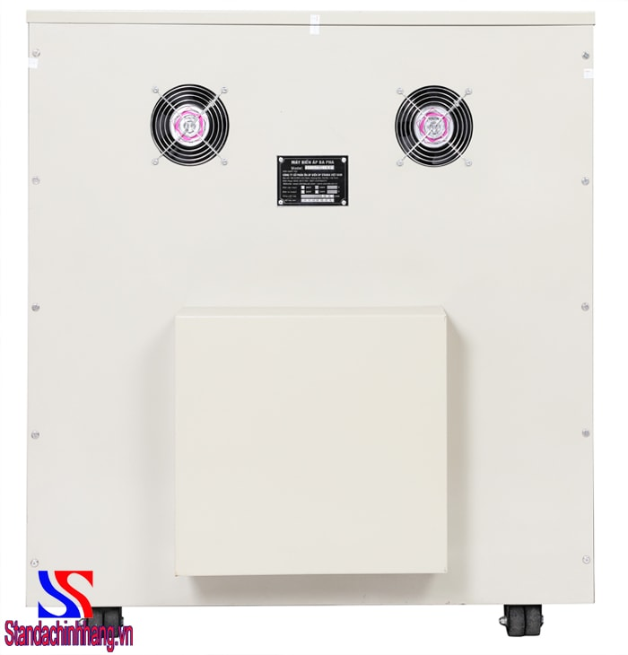 Cấu tạo máy biến áp cách ly 150kva - ảnh mặt sau máy biến áp cách ly 150KVA