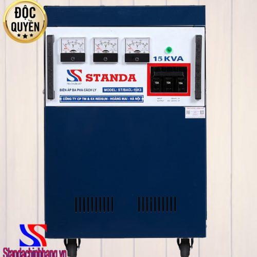 Biến áp cách ly Standa 15KVA 3 pha