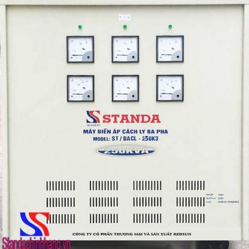 Biến áp cách ly 250KVA 3 pha Standa