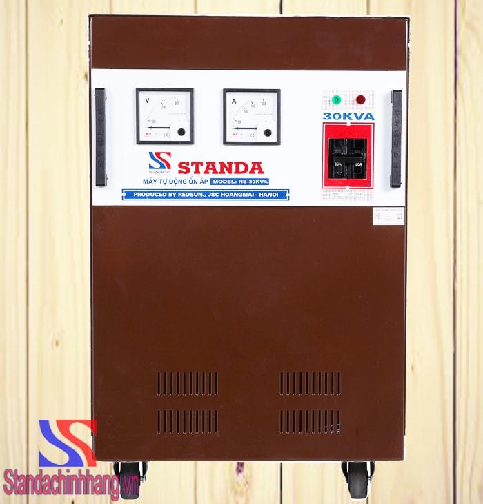 Máy ổn áp Standa 30kva dải 150v – 250v model RS-30000. Giá thành: 12,180,000đ