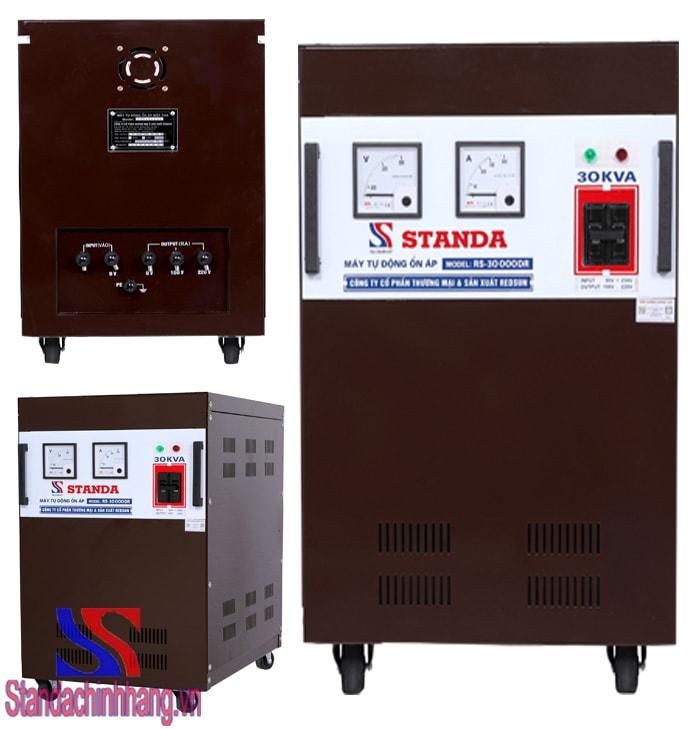Máy ổn áp Standa 30kva dải 90v – 250v model RS-30000DRI. Giá thành: 15,520,000đ