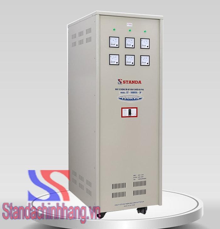 Ảnh ổn áp standa 150Kva 3 pha dải điện áp 260V loại ổn áp công nghiệp chính hãng