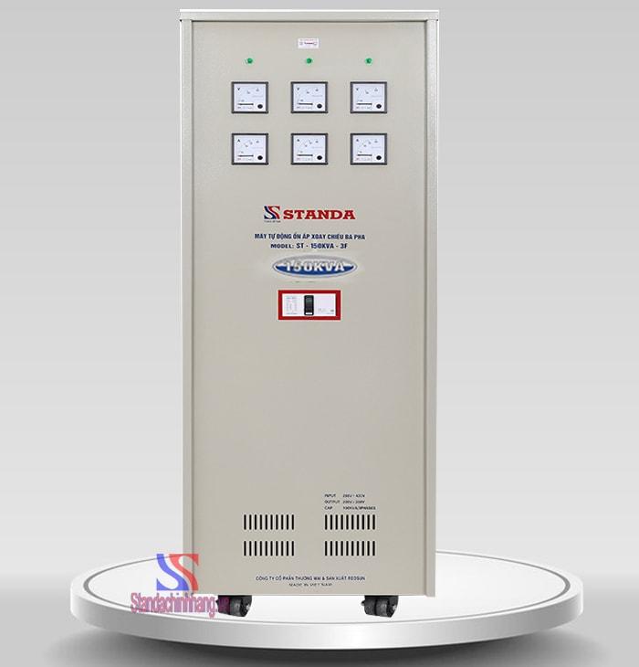 Ổn áp Standa 3 pha 150KVA dải điện áp (260V – 430V)