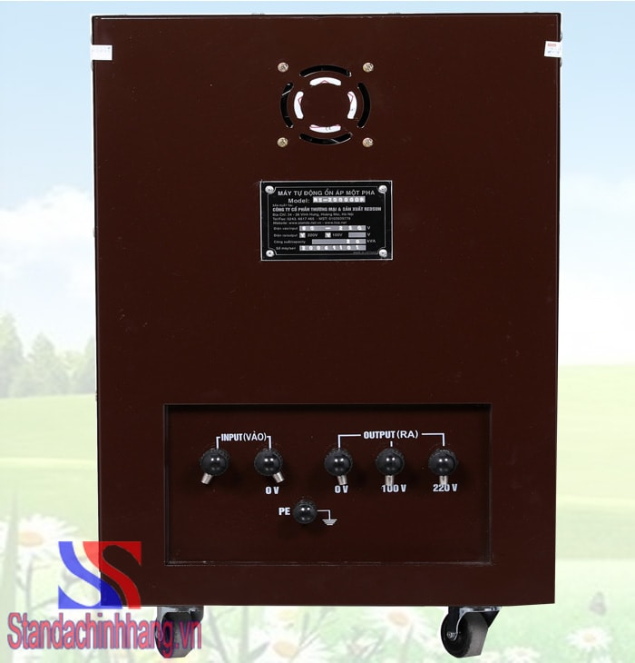ảnh ổn áp standa chính hãng 20kva điện áp 90v đến 250v