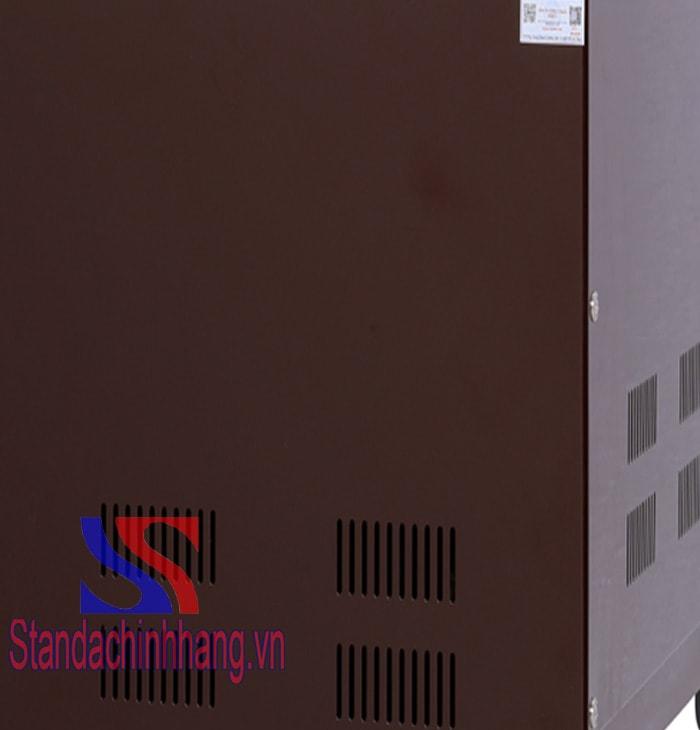 Mặt sau của máy ổn áp standa 20kva điện áp từ 150v đến 250v