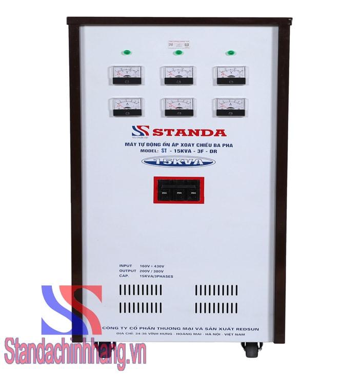Ổn áp Standa 3 pha 15KVA (160V-430V)