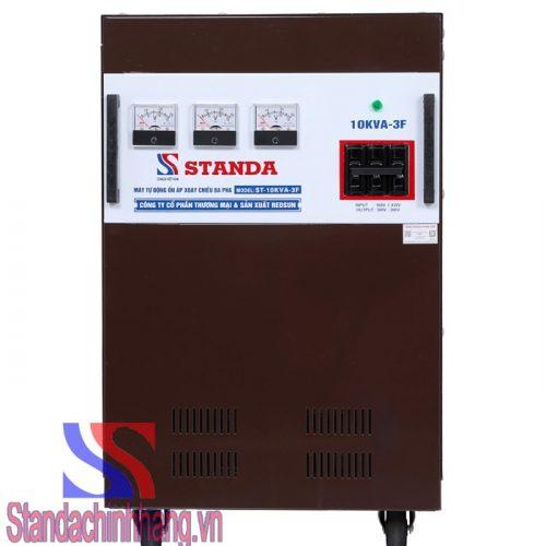 Ổn áp Standa 10kva 3 pha dải điện áp 260V- 430V