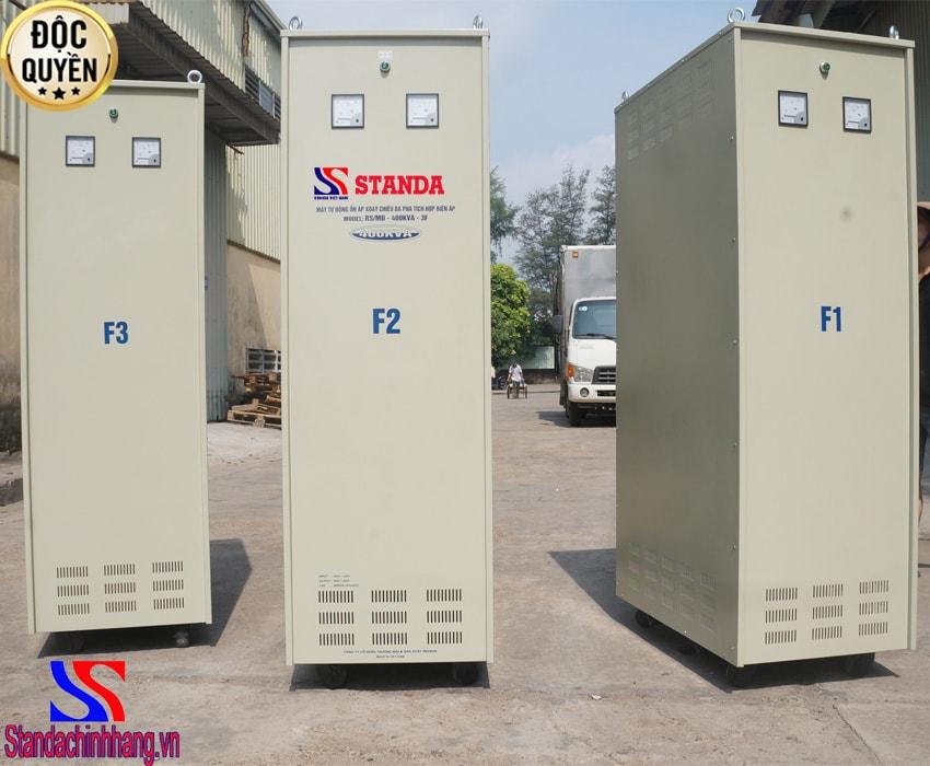Ổn áp Standa 400KVA 3 pha điện áp (260V-430V)
