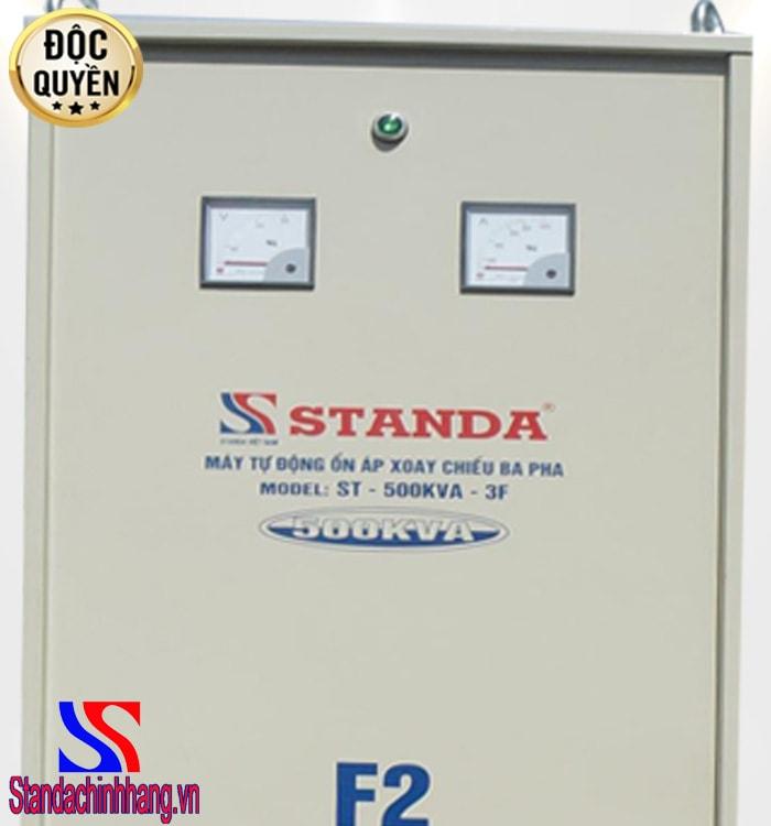 Ổn áp Standa 500kva 3 pha được khách hàng đánh giá cao