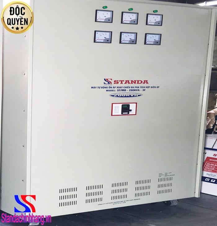 Ổn áp Standa 200KVA 3 pha điện áp (160V-430V)