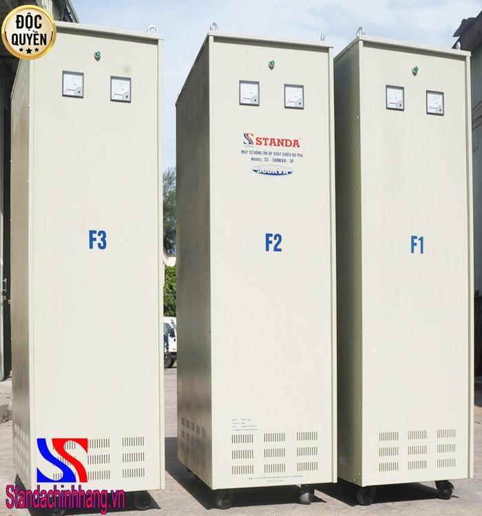 Ổn áp Standa 500kVA (304V-420V) 3 pha