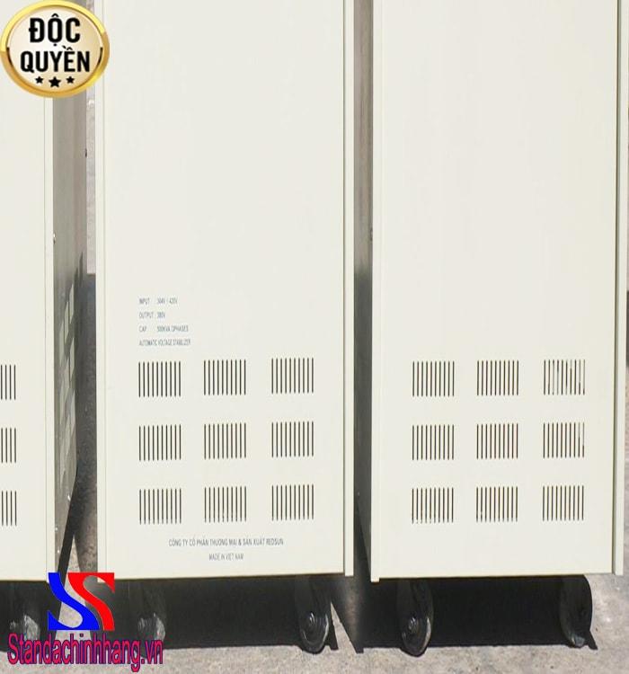 Ưu điểm của ổn áp Standa 500kva 3 pha dải 304V – 420V