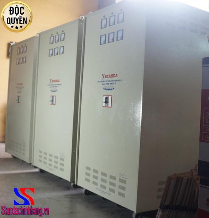 Đặc điểm cơ bản của ổn áp 200kva dải điện áp 260v đến 430V
