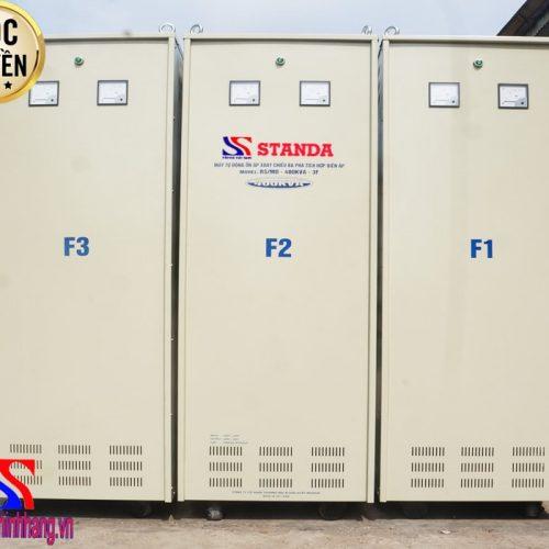 Ổn áp Standa 400KVA 3 pha điện áp (304V-420V)