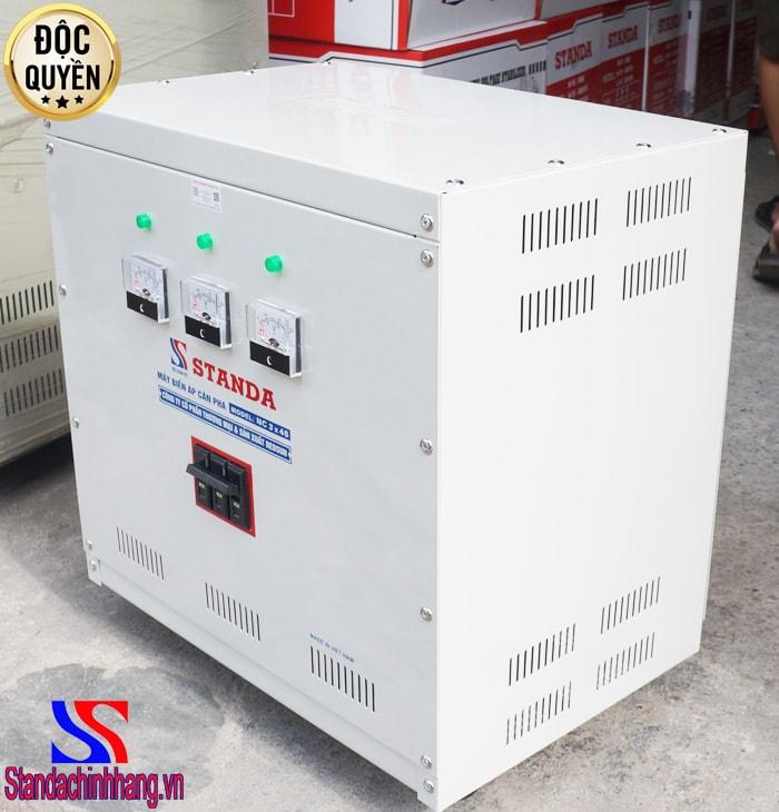 Máy cân bằng pha điện áp 3 pha - Những lý do khách hàng nên lựa chọn máy cân pha STANDA