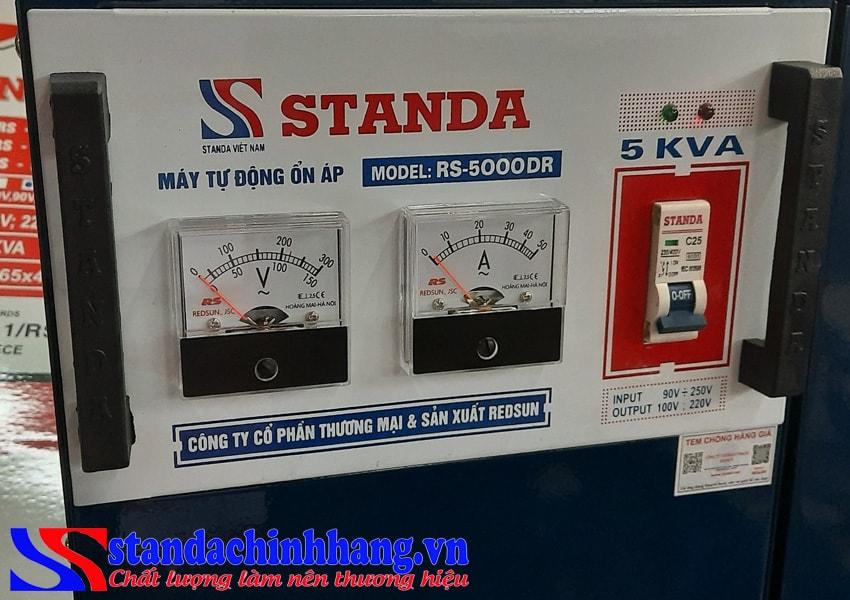Ưu điểm của ổn áp Standa chính hãng