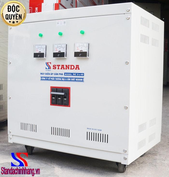 máy biến áp cân pha NC 3x45 - Máy cân pha STANDA giúp khắc phục mọi vấn đề