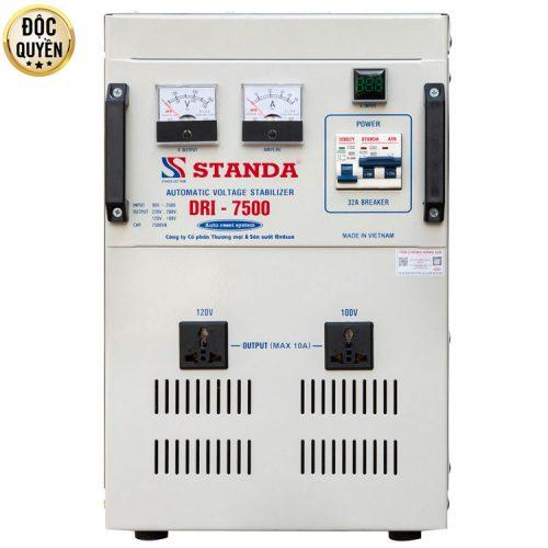 Máy ổn áp tự động đa chức năng 7.5kva DRI ( 90V-250V)